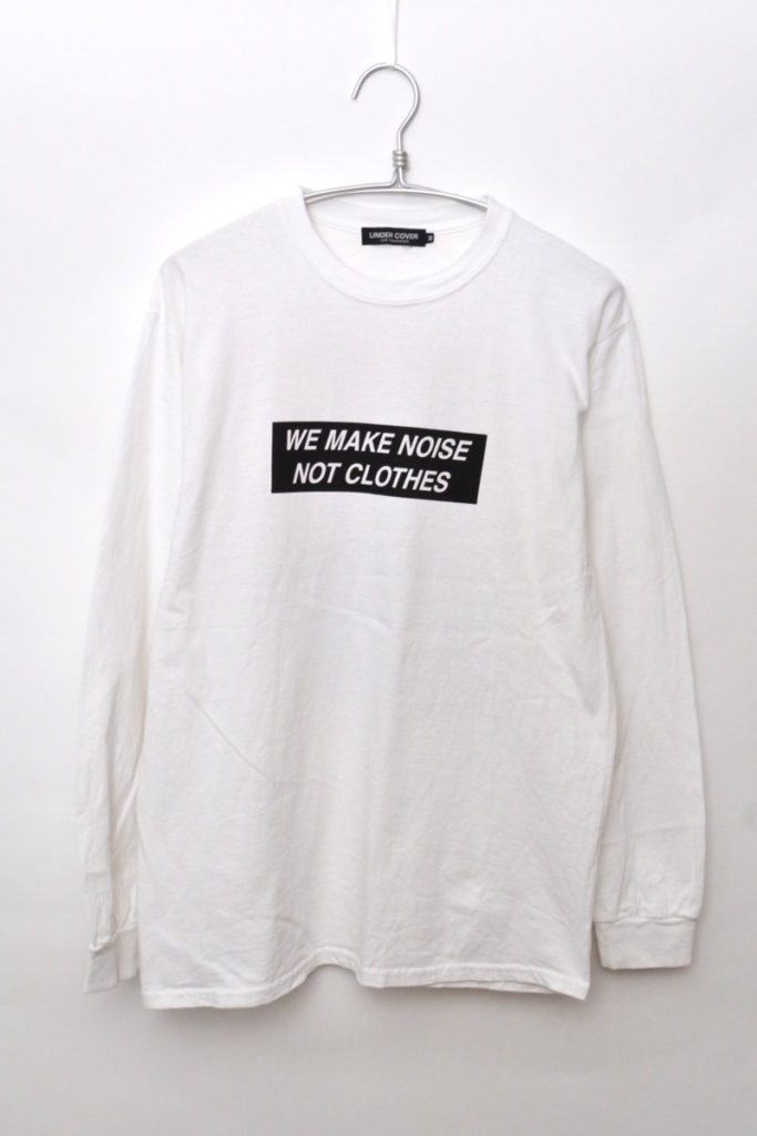 2013AW/ WE MAKE NOISE NOT CLOTHES 袖リブ プリントカットソー