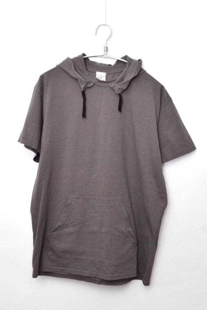 後付けフード Tシャツ 半袖パーカー