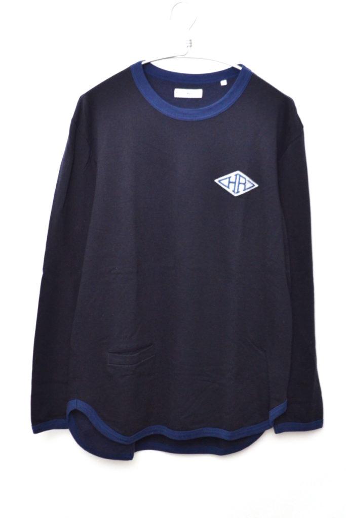 2019/ HRワッペン フレンチテリーTシャツ ポケット付きカットソー