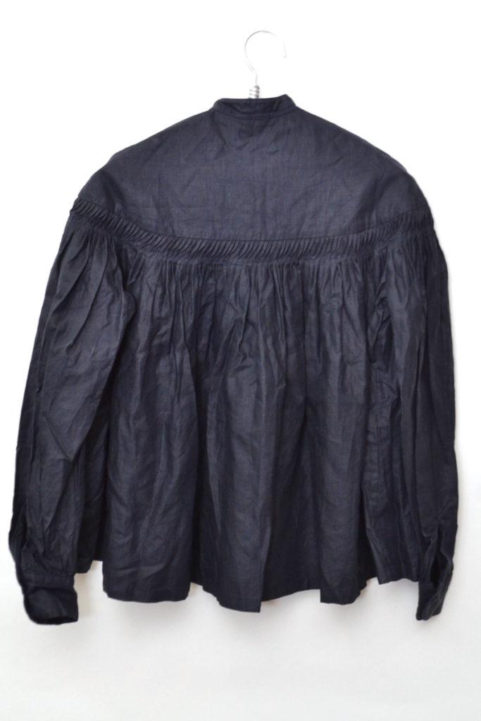 高密度リネン チンツタックシャツ ブラウスの買取実績画像