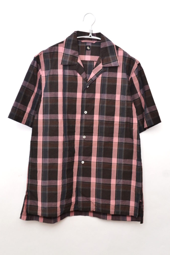 2019SS/ Open Collar S/S Shirt オープンカラーシャツ
