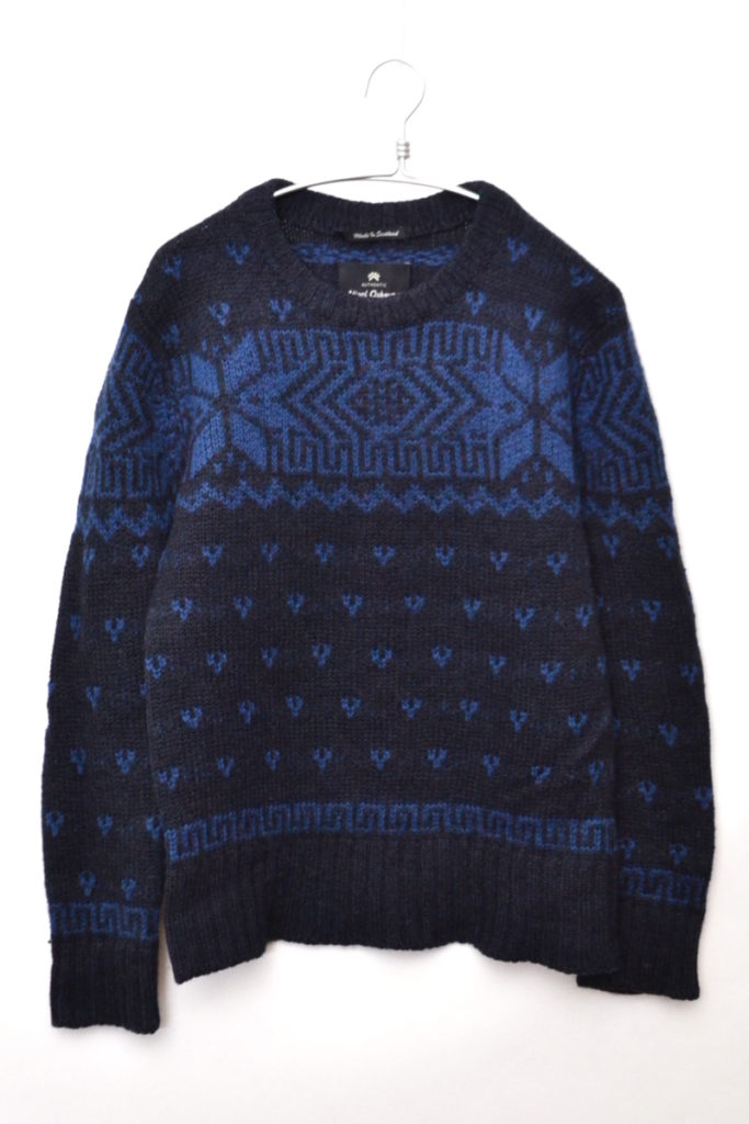 AUTHENTIC LINE/LEWIS CREW SWEATER ルイスセーター
