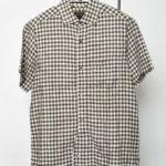 2016SS/ H.S B.OFFICERS SH LINEN ブリティッシュオフィサーズシャツ リネン 半袖