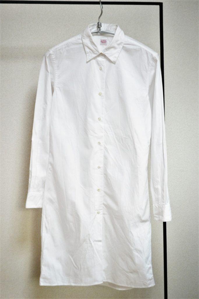 ロングシャツ シャツワンピース