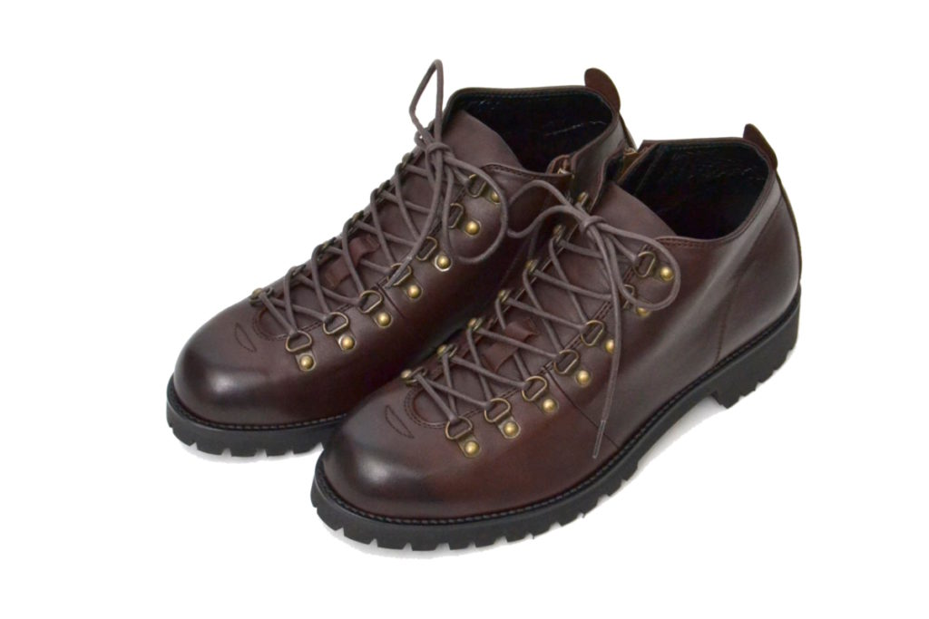 SHORT TREKKING BOOTS with SIDE ZIP (WATER PROOF LEATHER) ショートトレッキングブーツ