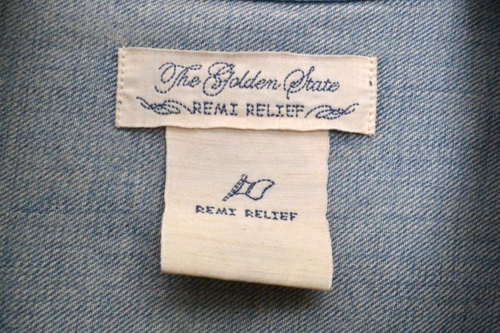 × BEAMS /別注 DENIM 1st JACKET 大戦モデル ダメージ加工 デニムジャケット Gジャンの買取実績画像