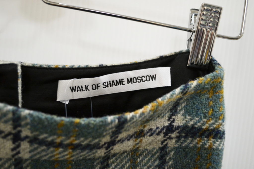 MOSCOW/2017AW/チェックツイード ロングスカートの買取実績画像