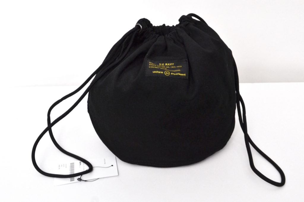 2018SS/UEN PHYSICAL FITNESS EFFECTS BAG 巾着バッグの買取実績画像