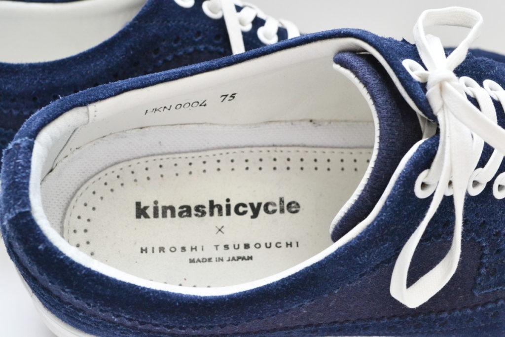 ×HIROSHI TSUBOUCHI/ウイングチップ スウェード切替 スニーカーの買取実績画像