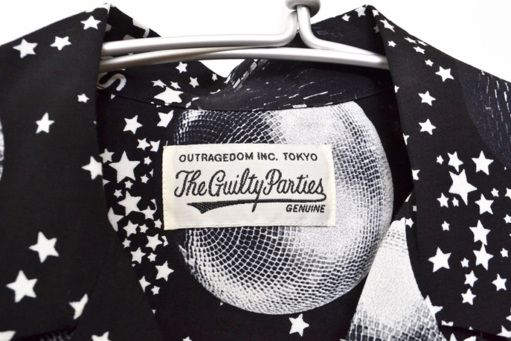 2018SS/MIRROR BALL S/S HAWAIIAN SHIRT ミラーボール 半袖 アロハシャツの買取実績画像