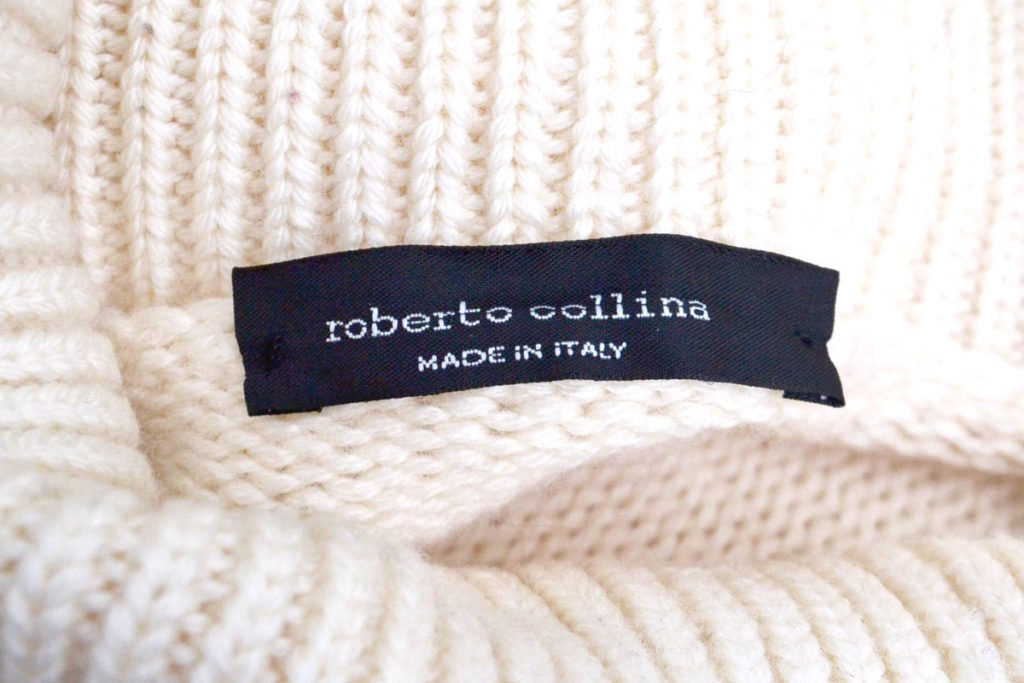 品番:2003 ミドルゲージ タートルネックニット セーターの買取実績画像