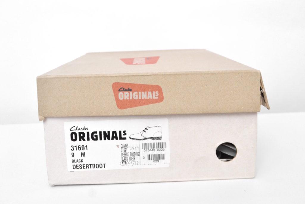31691 DESERT BOOTS デザートブーツ ブラックスウェードの買取実績画像