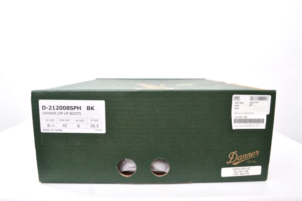 × Danner ◆ 18AW/DANNER LIGHT ZIP BOOTS ダナーライト サイドジップブーツの買取実績画像