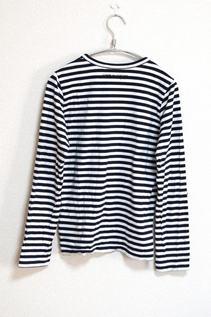 AD2013/ ボーダー プリント カットソー Tシャツの買取実績画像