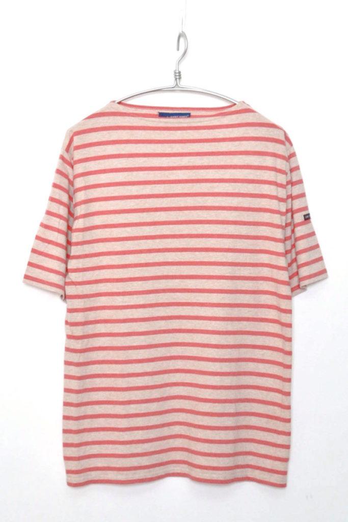 PIRIAC ボーダーボートネックTシャツ