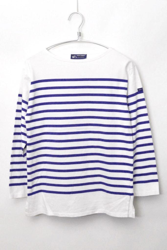 NAVAL ナヴァル パネルボーダー バスクシャツ