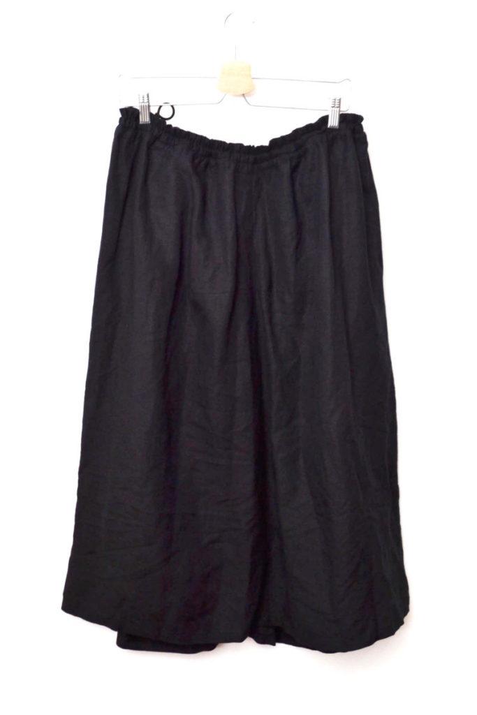 2019SS/ レーヨンリネンイージークロスギャザースカートの買取実績画像