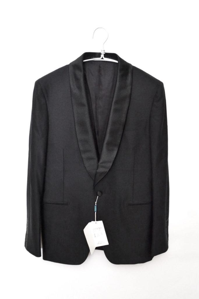ウール シルク テーラードジャケット