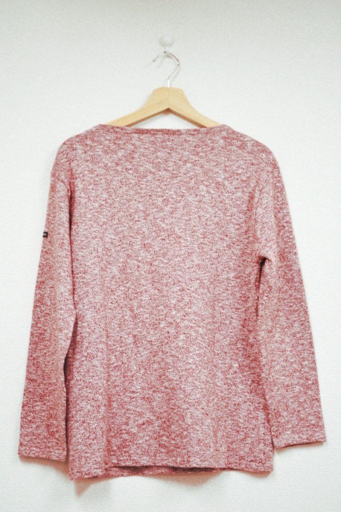 OUESSANT MELANGE/ウエッソン メランジ 無地 バスクシャツの買取実績画像