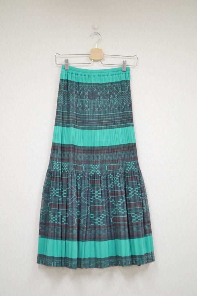 2002SS/ウエストゴム プリーツロングスカート
