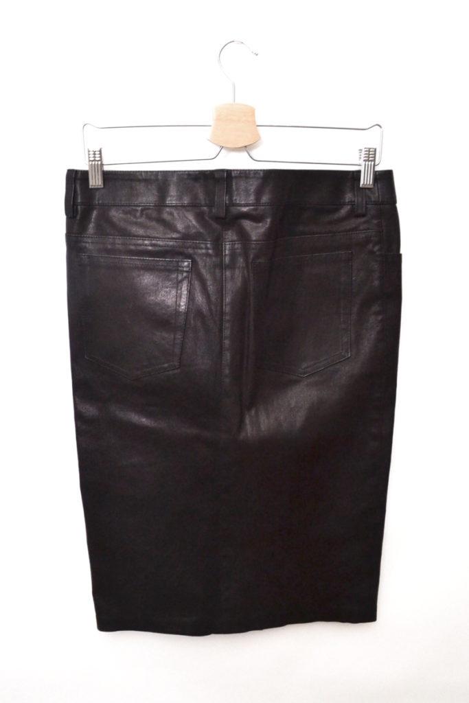 2013AW/レザー タイト スカートの買取実績画像