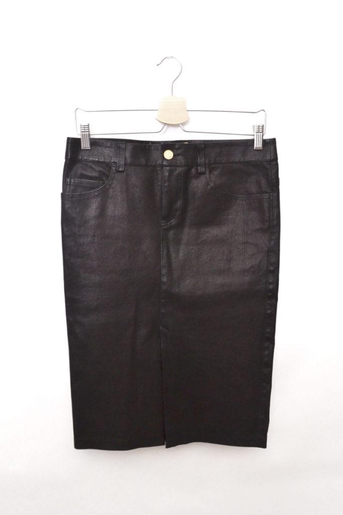 2013AW/レザー タイト スカート