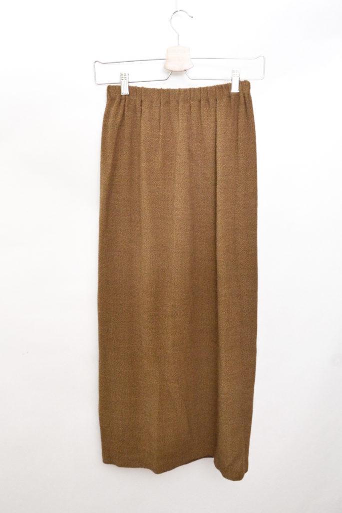 ウール イージー ロングスカートの買取実績画像