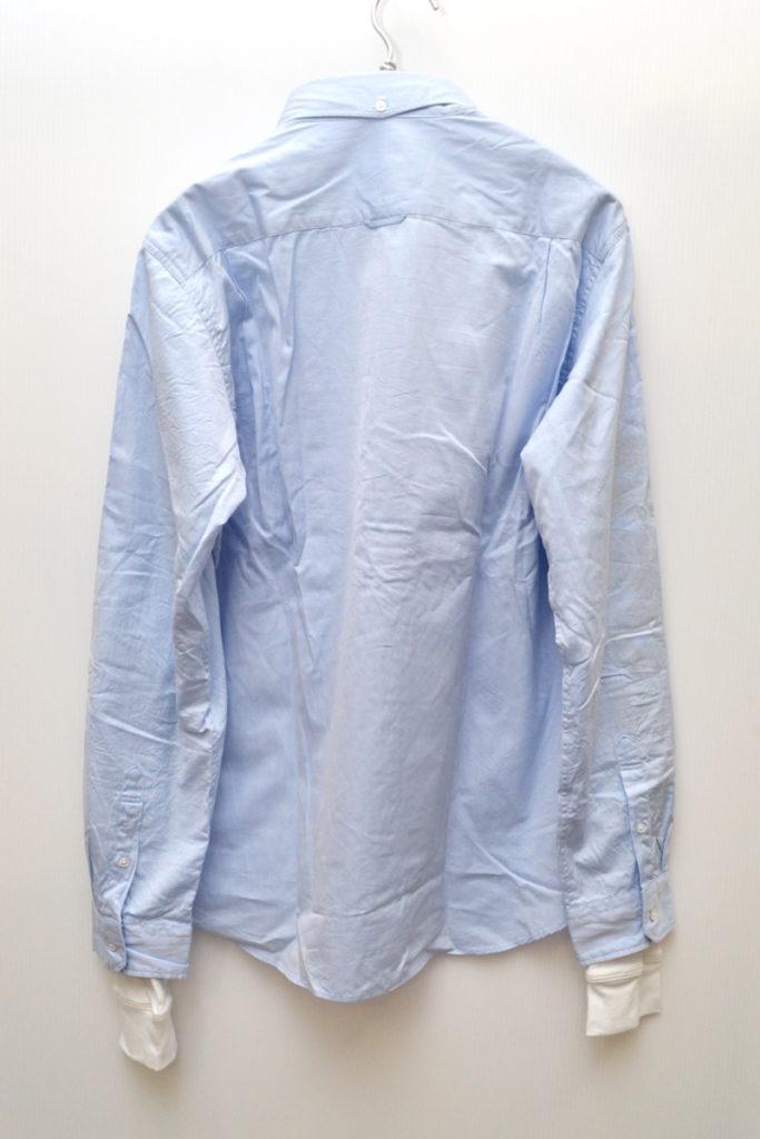 18SS/SLEEVE FAKE LAYERED B.D SHIRT フェイクレイヤード BDシャツの買取実績画像