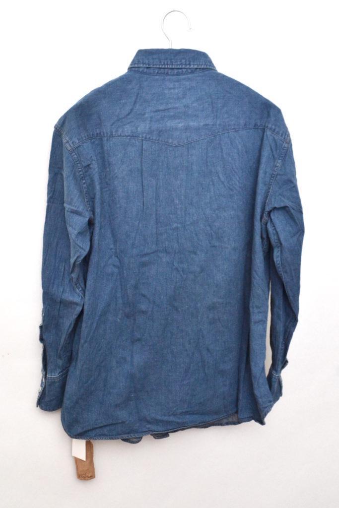 VINTAGE FIT WESTERN SHIRT ヴィンテージフィット デニムウエスタンシャツの買取実績画像