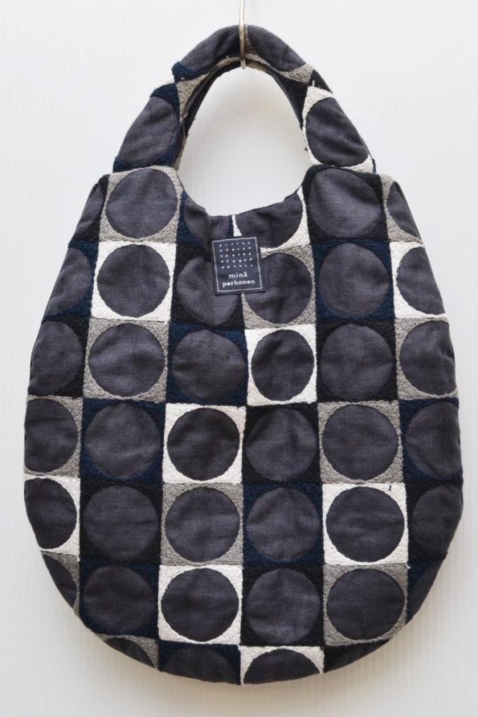 2016ss/pallo ヘンプ 刺繍 エッグバッグ
