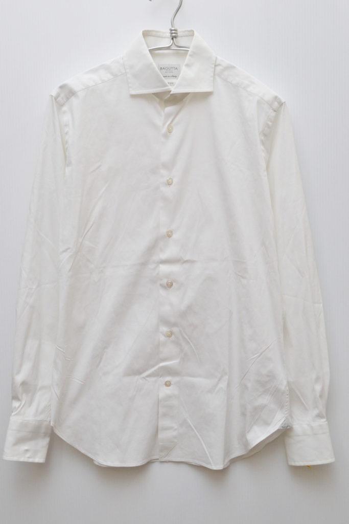 ホリゾンタルカラー ストレッチコットン シャツの買取実績画像