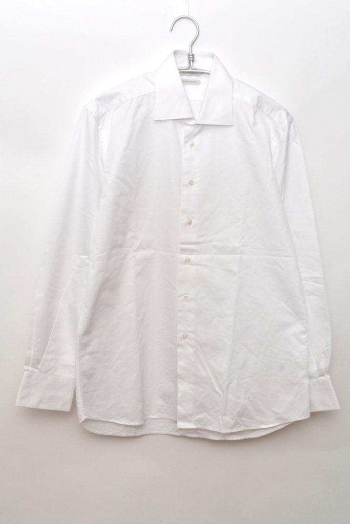EGYPTIAN COTTON ホリゾンタルカラーシャツ