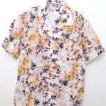 2019ss/ Camp Shirt Botany Printed Lawn/半袖オープンカラーシャツ