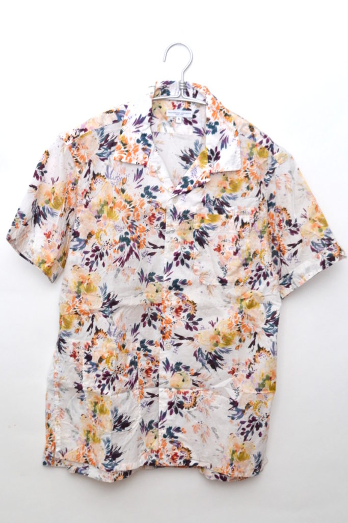 2019ss/ Camp Shirt Botany Printed Lawn/半袖オープンカラーシャツ