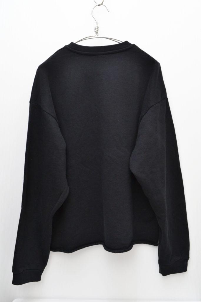ロゴ刺繍 裾カットオフ クルーネックスウェットシャツの買取実績画像