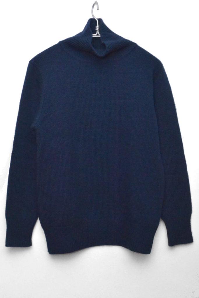 soft merino wool yarn super turtle ソフトメリノ タートルネックニット セーター