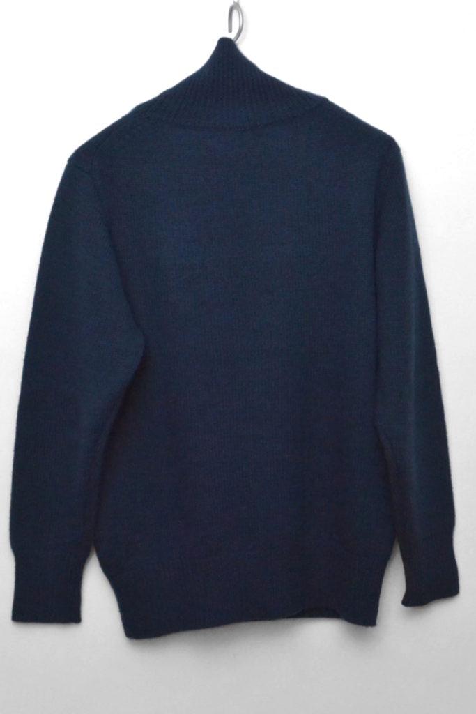 soft merino wool yarn super turtle ソフトメリノ タートルネックニット セーターの買取実績画像