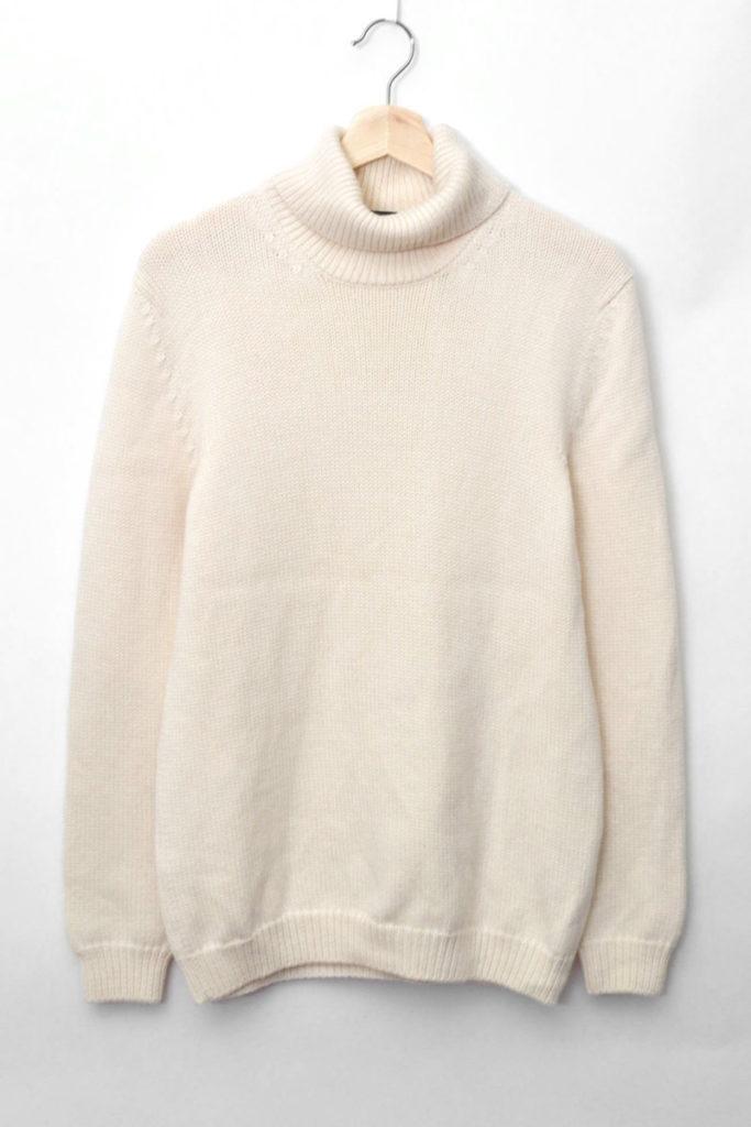 品番:2003 ミドルゲージ タートルネックニット セーター