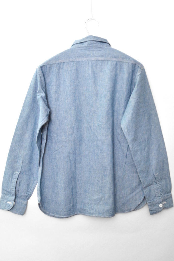 Duck Digger/Chambray work shirt シャンブレーシャツの買取実績画像