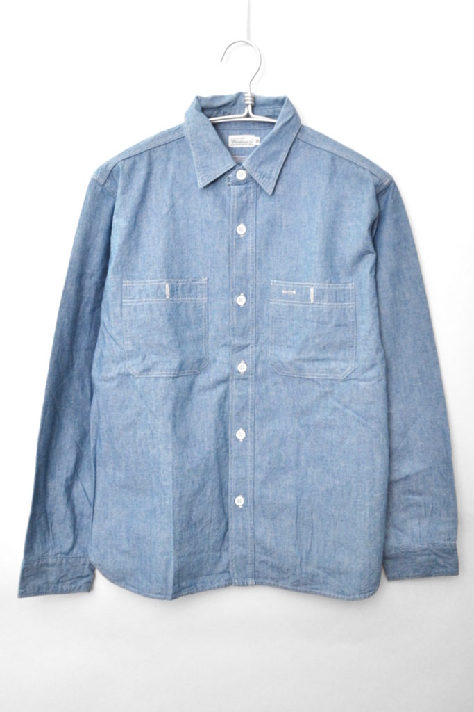 Duck Digger/Chambray work shirt シャンブレーシャツ