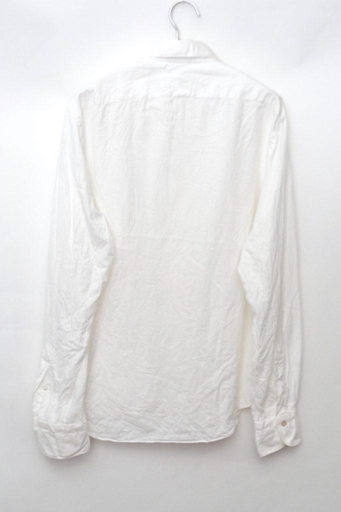 SIMONE シモーネ フランネル カッタウェイカラーシャツの買取実績画像