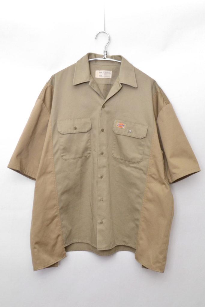 × Dickies ◆ 解体再構築 リメイク ワークシャツ