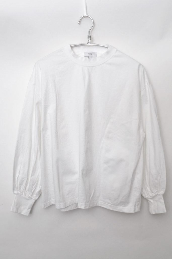 LONG-SLV TEE 12231 ボリュームスリーブ ロングスリーブTシャツ カットソー