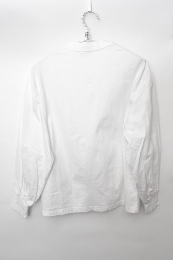LONG-SLV TEE 12231 ボリュームスリーブ ロングスリーブTシャツ カットソーの買取実績画像