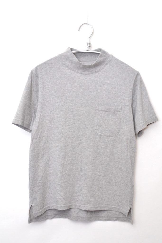 Mock Neck Pocket Tee モックネック ポケットTシャツ