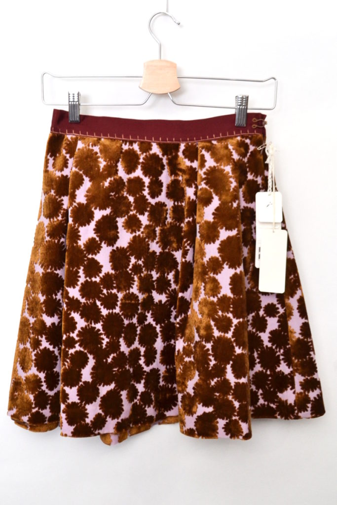 good news! パイル装飾 スカート