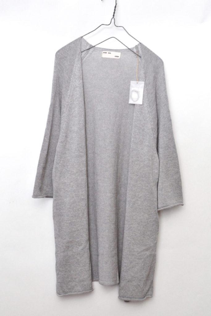 2017/ dry cotton robe ドライコットン ニット ローブ カーディガン