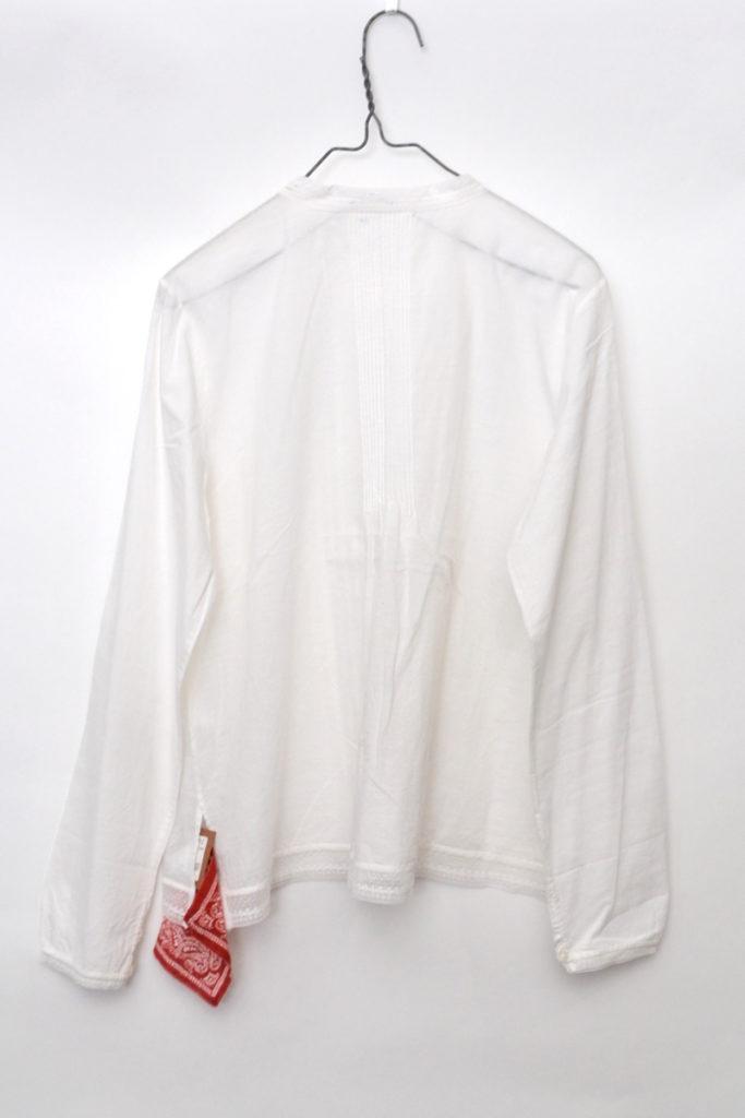 インドカディコットン 襟レースブラウス シャツの買取実績画像