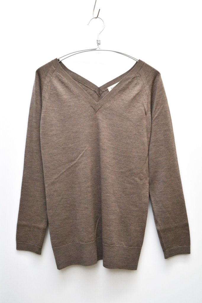 ×Deuxieme Classe/ウール Vネック ニット セーター