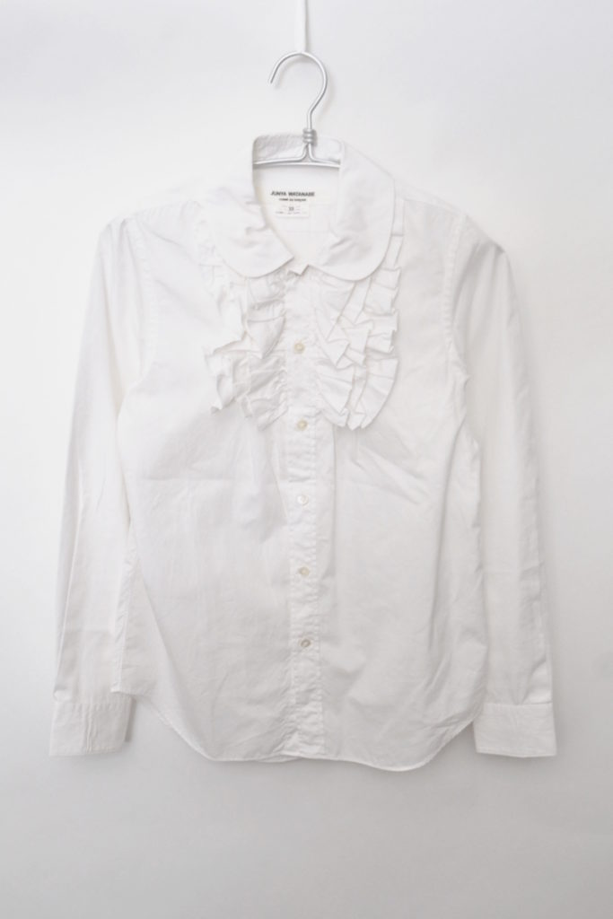 COMME des GARCONS/AD2009 09AW/フロントフリル ブラウスの買取実績画像